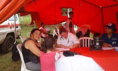 Salud Pública asistió a más de 100 personas en Tañarandy