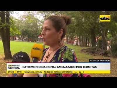 Iglesia de Yaguarón, un patrimonio en peligro