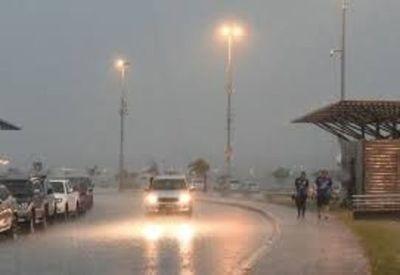 Se pronostican tormentas en todo el país