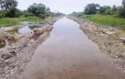 Alto Paraguay nuevamente está aislado por tierra