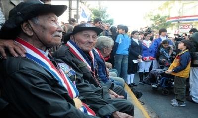 Veteranos de la Guerra del Chaco percibirán sus pensiones el miércoles 24