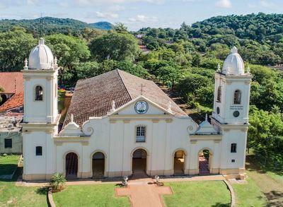 Templo de Paraguarí está en grave peligro