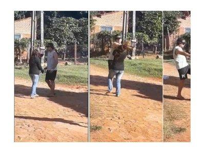 Orden de detención contra el hombre que golpeó a su pareja en Luque