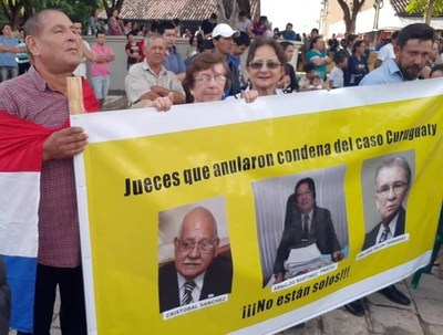Caso Curuguaty: el juicio contra magistrados crea desconfianza