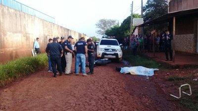 Asesinan de 15 balazos a un guardiacárcel en Pedro Juan Caballero