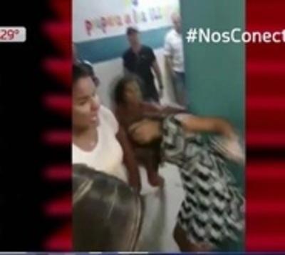 Batalla campal en hospital de Barrio Obrero