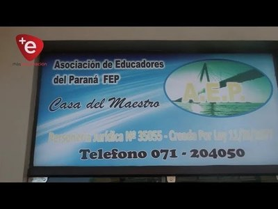 AEP HOMENAJEARÁ A DOCENTES JUBILADOS