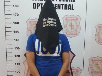 Detienen a sospechoso de un homicidio en Luque