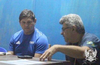 Luis Escobar, al servicio del fútbol