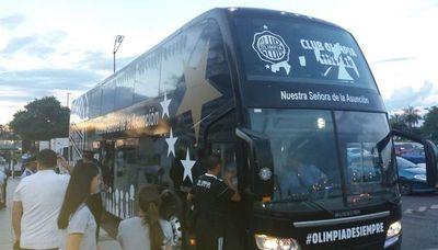 Olimpia regresó a Asunción