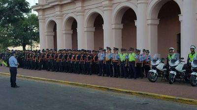 """Policía Nacional se declara en """"alerta de seguridad 100%"""" desde mañana"""