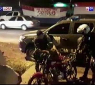 Linces capturan a peligrosos motochorros en Ypané