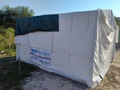 Salud instala en Argentina centro de salud para asistir chaqueños
