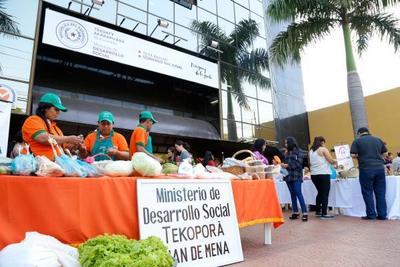 Tekoporã y Tenonderã ofrecen asistencia económica y técnica a familias emprendedoras