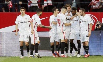 El Sevilla mira a la 'Champions'
