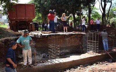 """Capaco intenta defender los robos de la  Comuna con obras en la """"era Zacarías"""""""