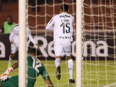 Gustavo Gómez encamina la clasificción de Palmeiras en Arequipa