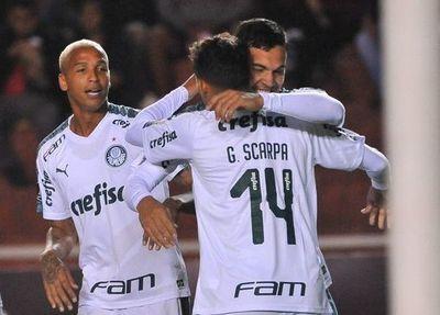 Gómez llega a cinco goles en Palmeiras