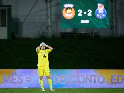 Un empate en el minuto 90 empaña las esperanzas del Porto