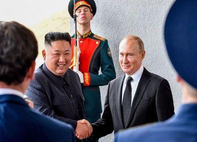 """Terminó la """"amistosa"""" cumbre Kim-Putin"""