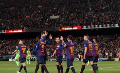 HOY / Imparable Barça, campeón de la Liga española
