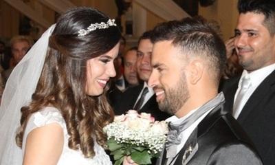 Marcelo Jara celebra un año de casado