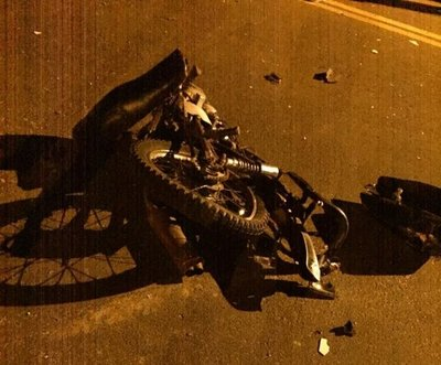 Motociclista pierde la vida en siniestro vial