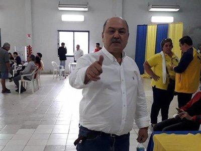 Celso Cáceres ganó las elecciones en Luqueño