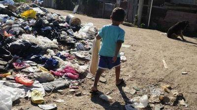 La pobreza infantil crece en Argentina en medio de la crisis