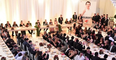 Lista 1 recaudó G. 1.000 millones en cena de la Unidad y Esperanza
