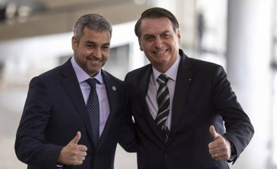 HOY / Preparan visita de Bolsonaro a Paraguay: nuevo puente como principal punto de agenda
