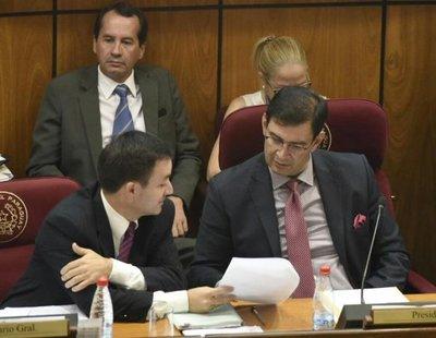 Senado omombyta juicio a Garay Zuccolillo