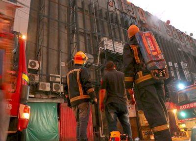 Nuevo incendio en el Shopping Hijazi