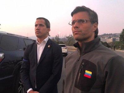 Guaidó libera al opositor Leopoldo López en Venezuela