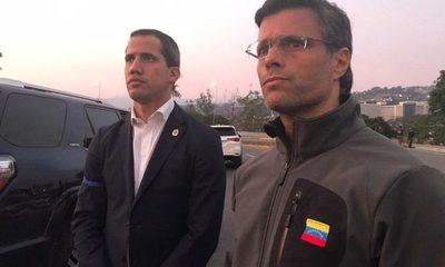 Militares se levantan y Guaidó anuncia liberación de Venezuela
