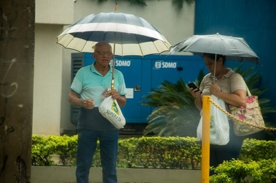 Meteorología emite alerta de tormentas para tres departamentos