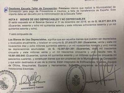Agencia española adeudaría a Comuna