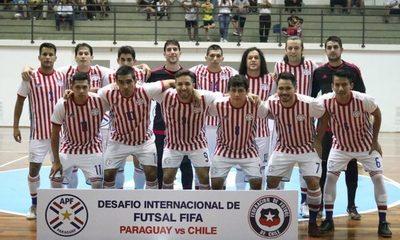 Paraguay tumba a Chile en primer amistoso