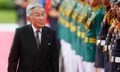 Akihito se despide como emperador de Japón