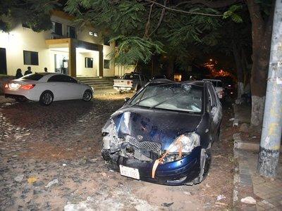 Menor al volante causa accidente de tránsito en Asunción