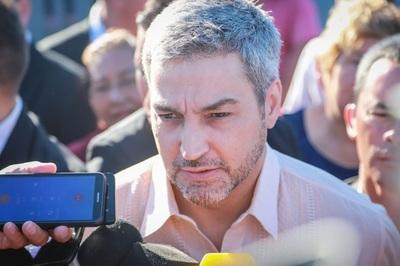 Mario Abdo Benítez expresa su apoyo al pueblo de Venezuela