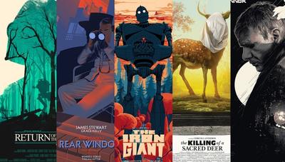 5 ilustradores de pósters de películas para seguir en Instagram