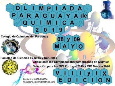 Estudiantes de secundaria competirán en las Olimpiadas Paraguayas de Química