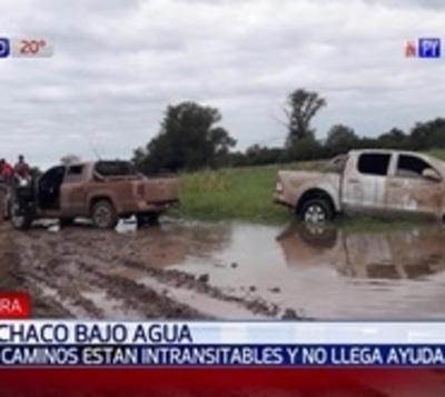 Ayuda para el Chaco no llega por falta de caminos