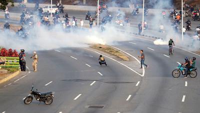 """""""No creo que la gente se calme al contrario, la gente se cansó del régimen"""""""