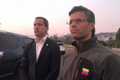 Leopoldo López, huésped de la embajada chilena en Caracas