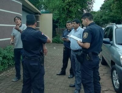 Detienen a ex presidente del Cajubi para trasladarlo a Tacumbú