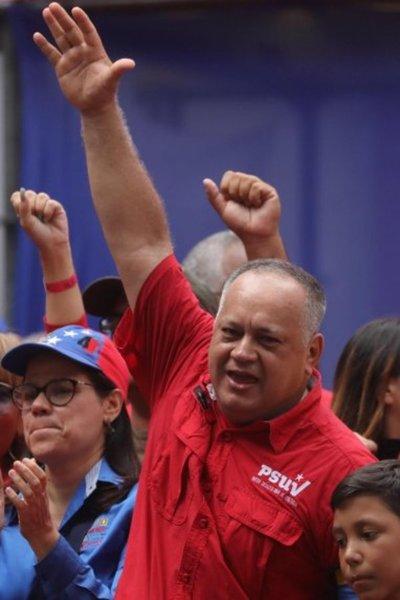 """Cabello dice que están """"completamente derrotados los golpistas"""" en Venezuela"""