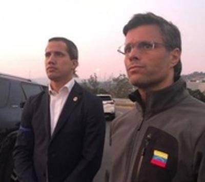"""Venezuela: Guaidó lanza """"fase final de Operación Libertad"""""""