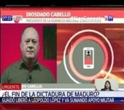 Chavismo convoca a sus seguidores al Palacio de Miraflores